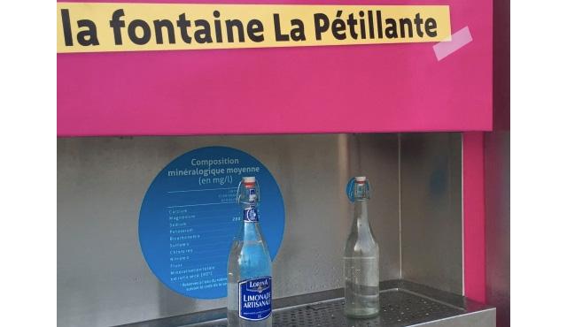 Água com gás gratuita em Paris