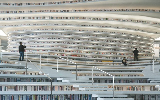 Biblioteca deTianjin Binhai