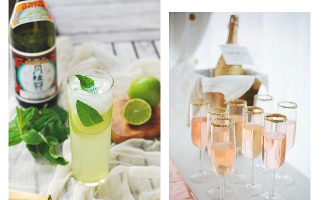 Bebidas menos calóricas