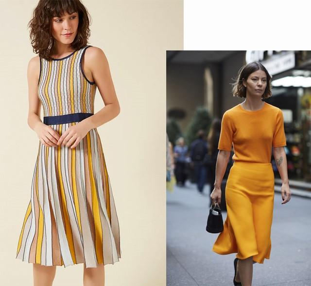 Amarelo na moda