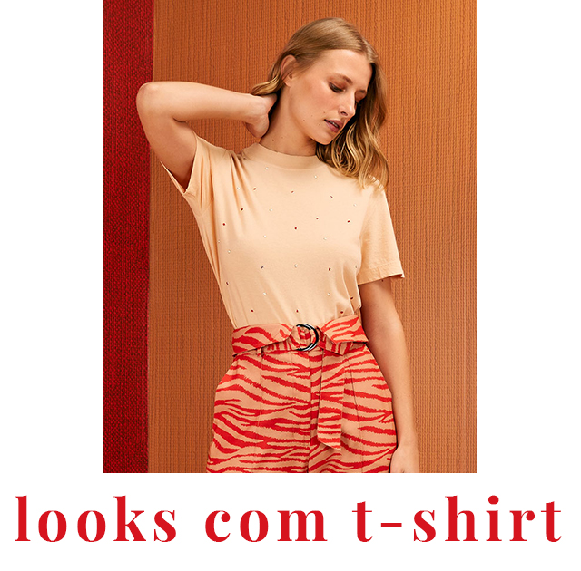Looks com T-shirt